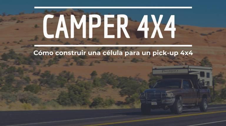 camper 4x4 como contruir celula pick up