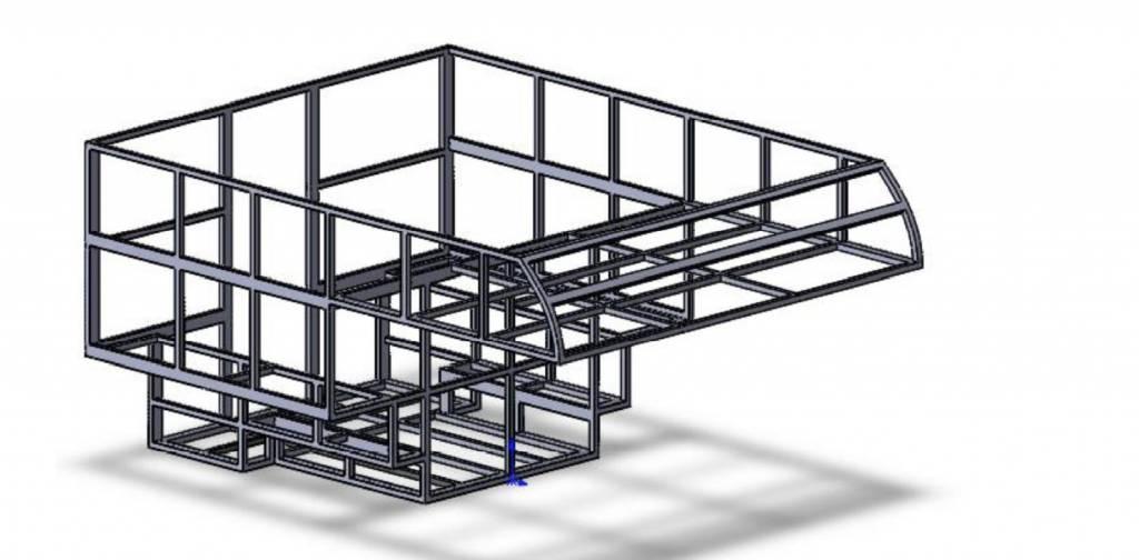 Diseño de la célula en aluminio