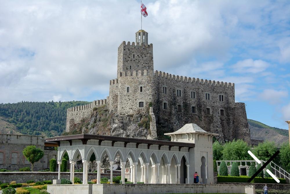el gran castillo donde residía la dinastía georgiana