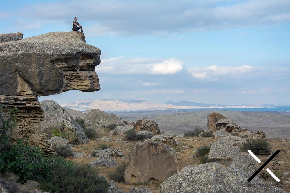 El rocoso Parque Nacional del Gobustán