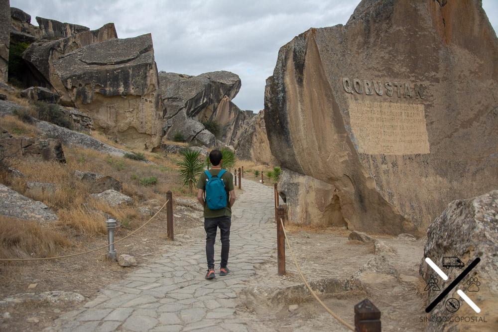 Entrada Parque Natural del Gobustán