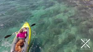 Uno de los miles de viajes en kayak