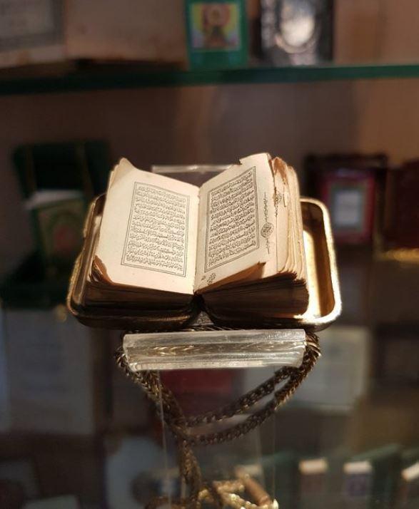 libro diminuto del Museo de los libros más pequeños del mundo