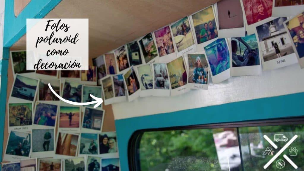 Decoración con fotos para furgoneta camper