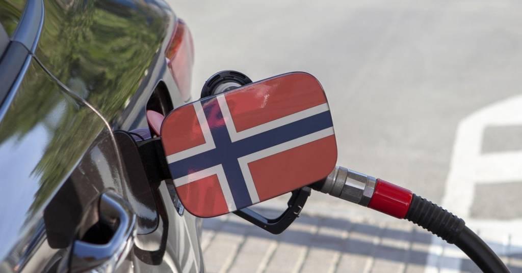 Echar gasolina en Noruega