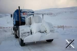 El convoi necesario para poder trasladarse en vehículo en malas condiciones meteorológicas