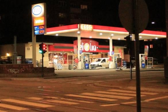 Gasolinera en Oslo