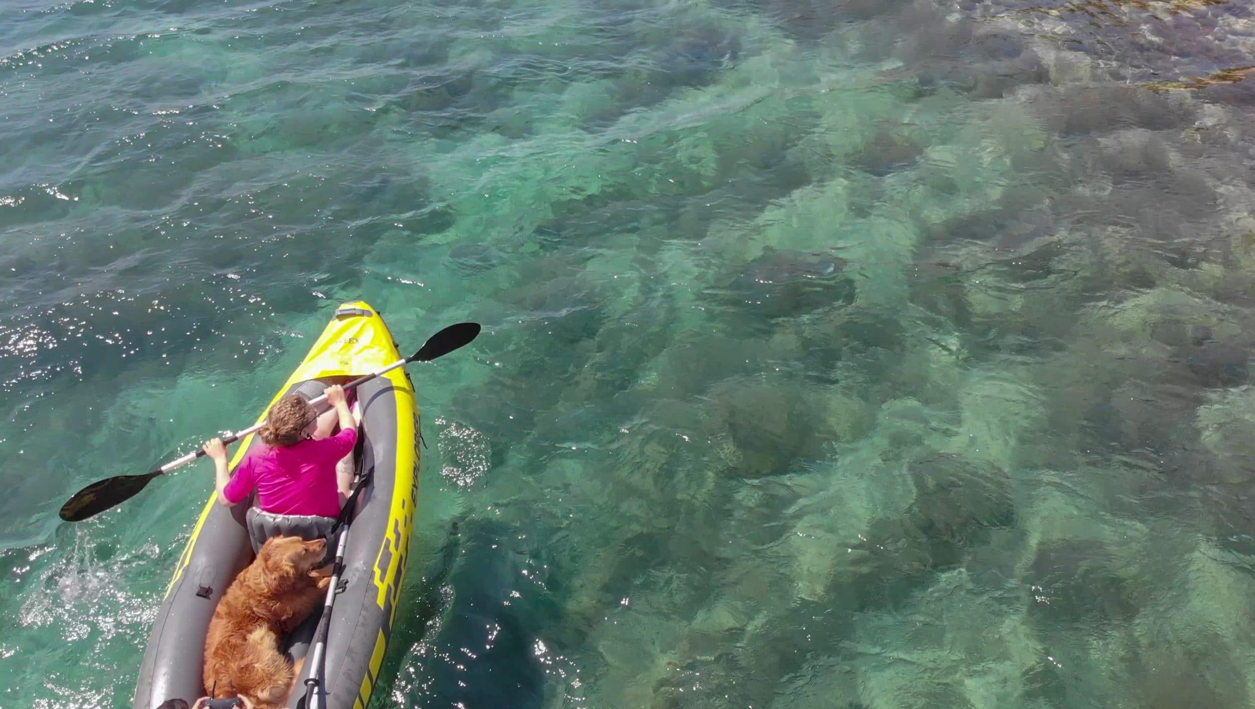 Kayak con Cuzco en Croacia