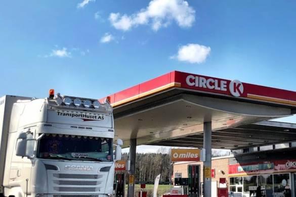 Las gasolineras circle K son muy numerosas en Noruega