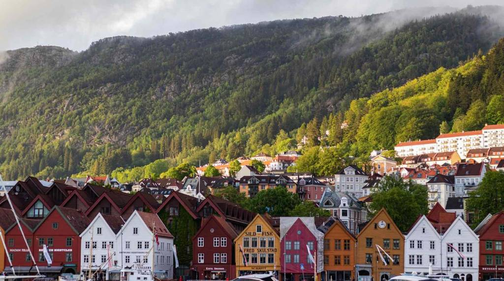 Los bonitos paisajes de Noruega en verano