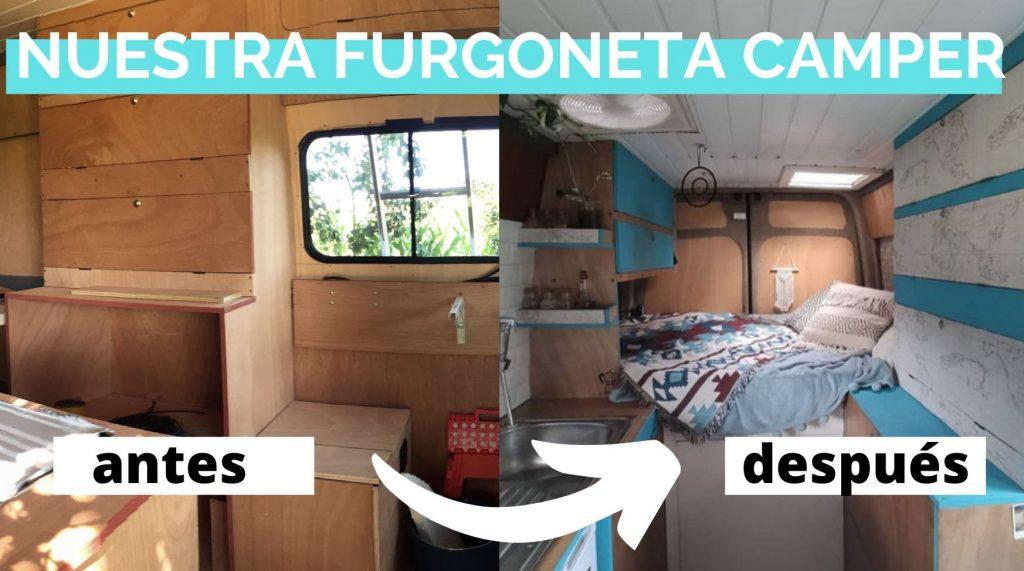 Nuestra furgoneta camper