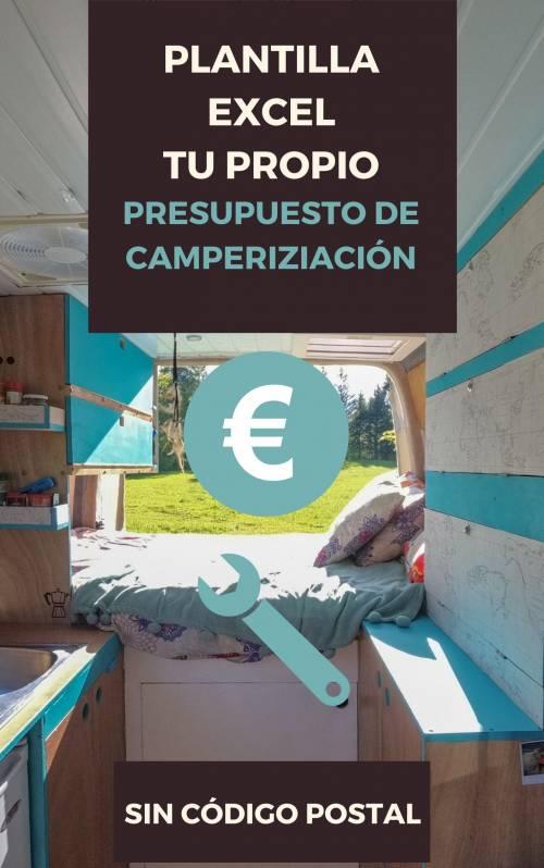 plantilla excel presupuesto camperizacion