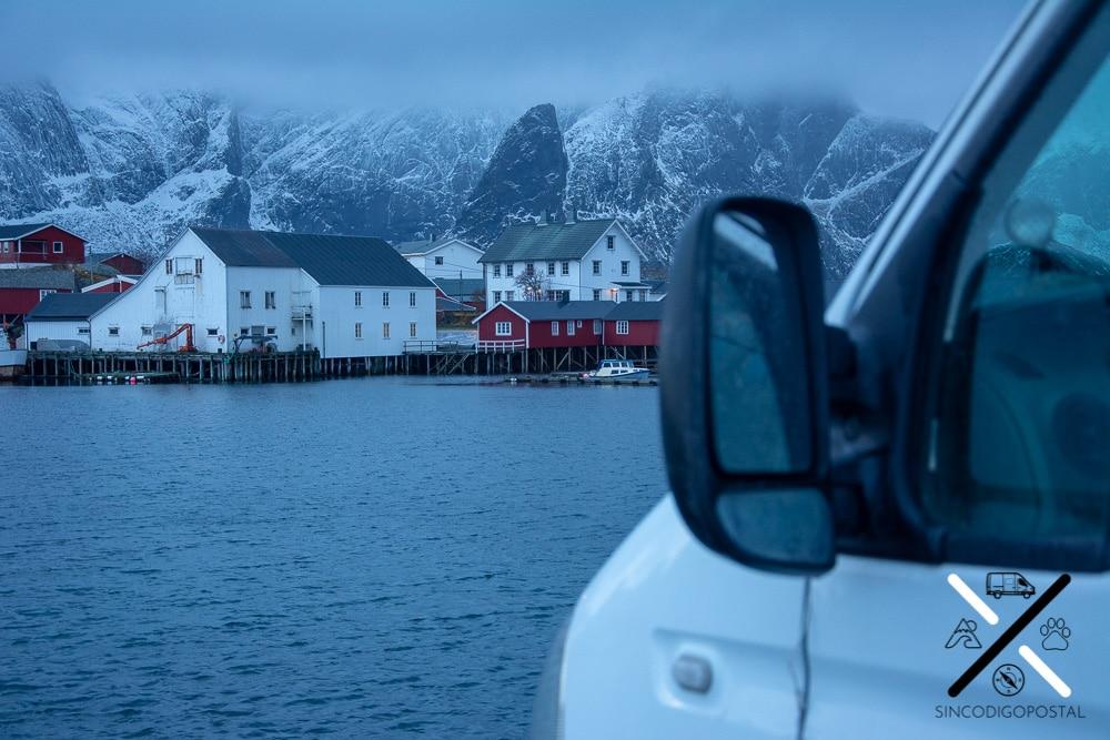 La pernocta en camper en Noruega es muy sencilla