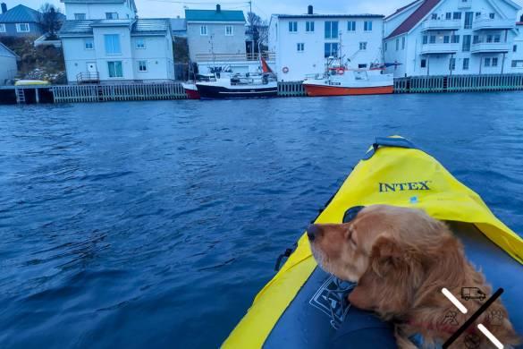 Embarcadero desde el que bajamos con el kayak