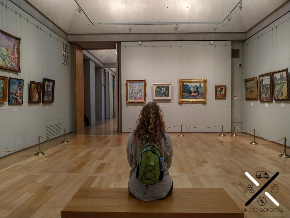 Disfrutando del Museo del Hermitage