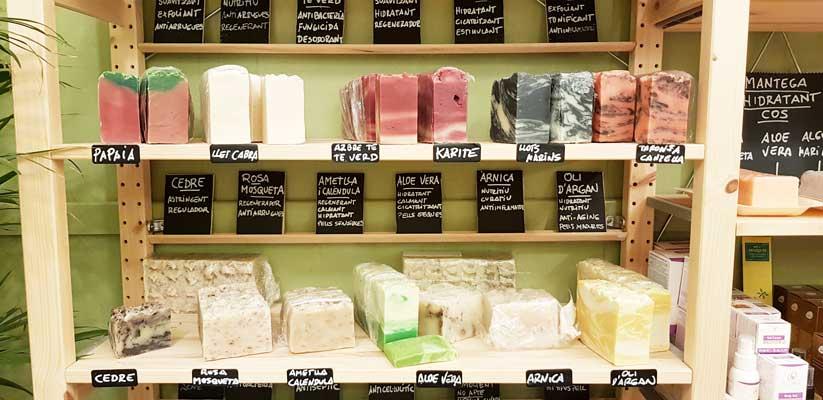Jabones sólidos para ducharse de manera respetuosa con el medio ambiente