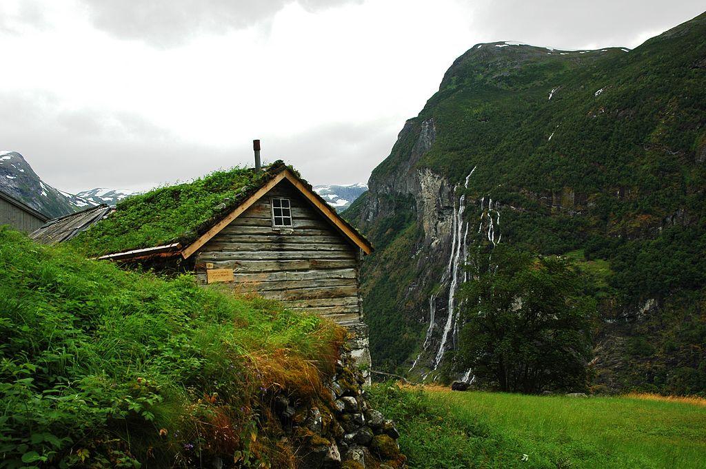 Granja Skageflå , al finalizar la ruta