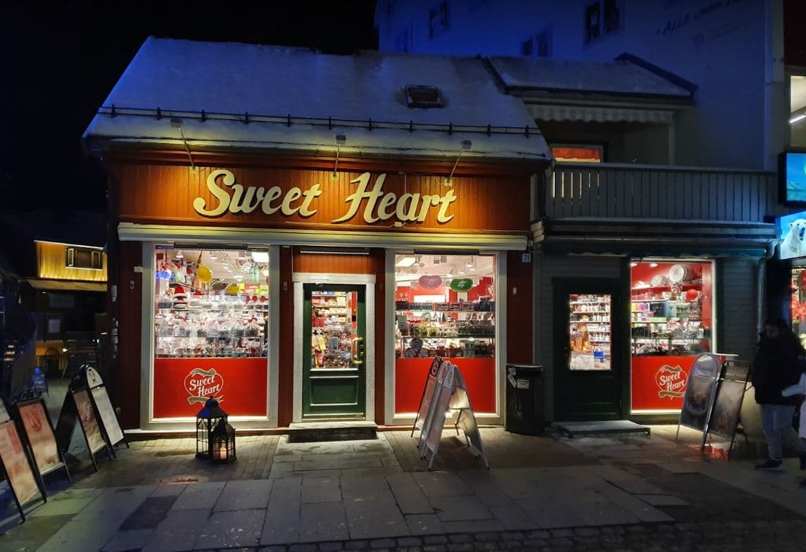 Tienda de chocolates Sweet Heart