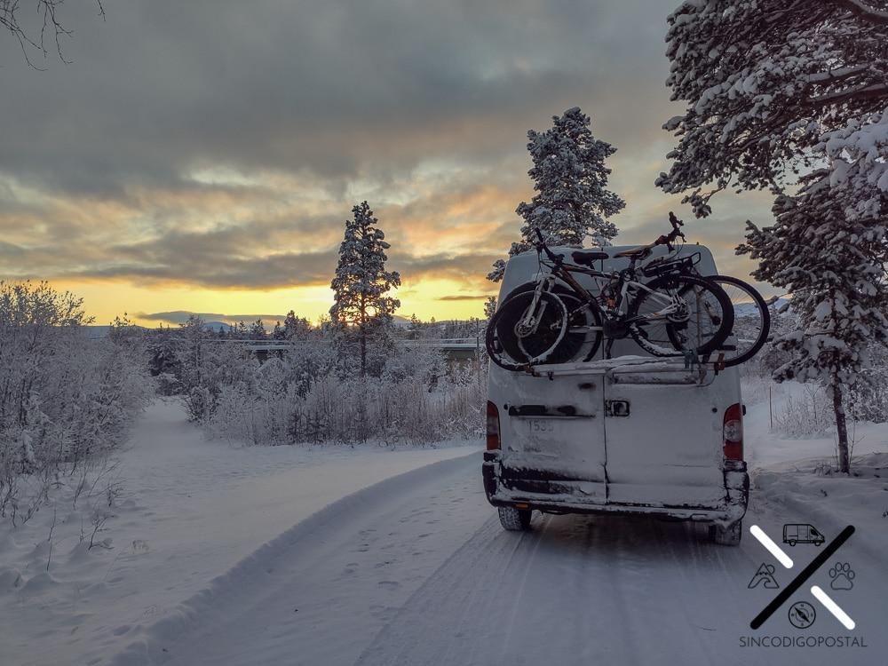 Tromso en furgoneta o autocaravana