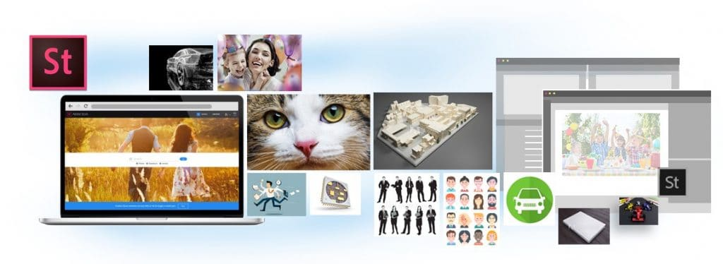 Adobe Stock es una opción para vender fotos y vídeos de Stock