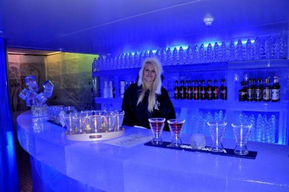 Bar de hielo en Bergen