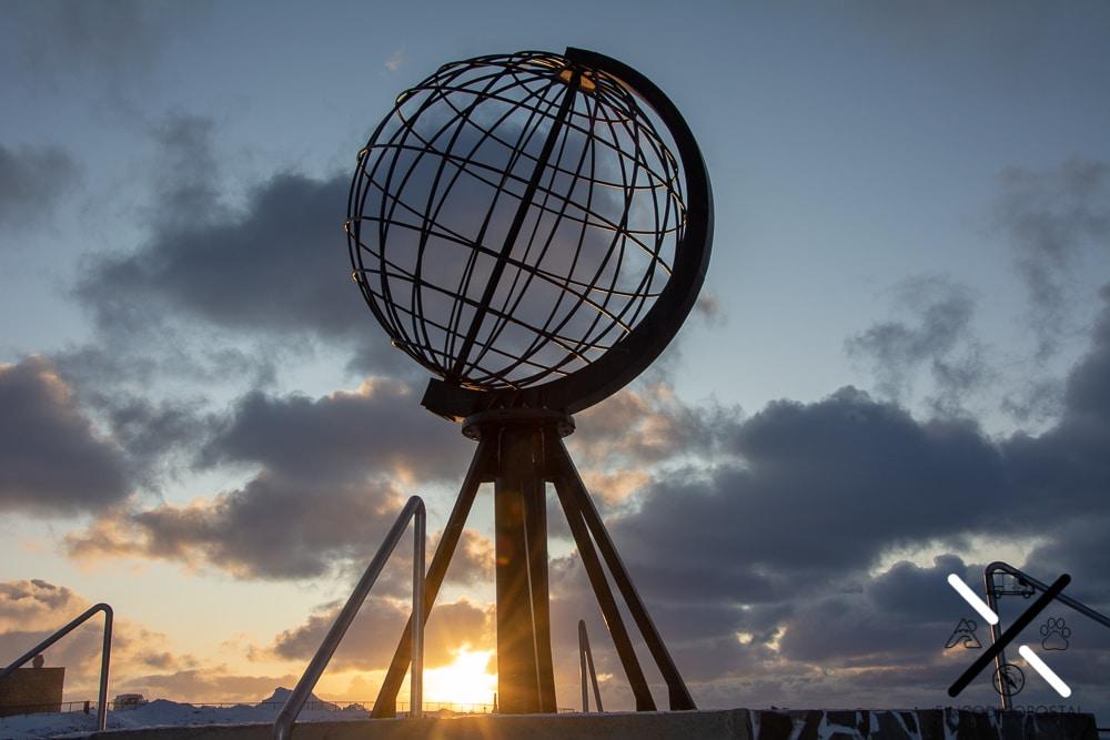 Cabo Norte antes de que llegase la Noche Polar el 21 de Noviembre