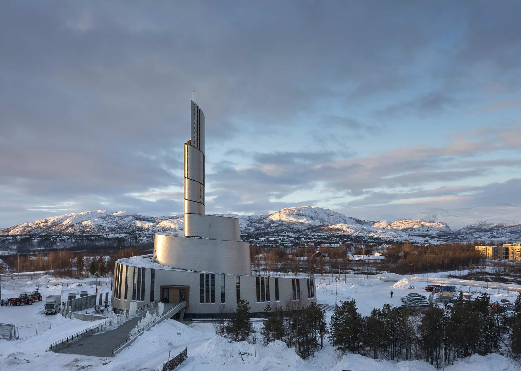 Catedral de las Auroras Boreales en Alta