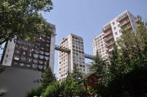 Edificios de la Unión Soviética en Tbilisi