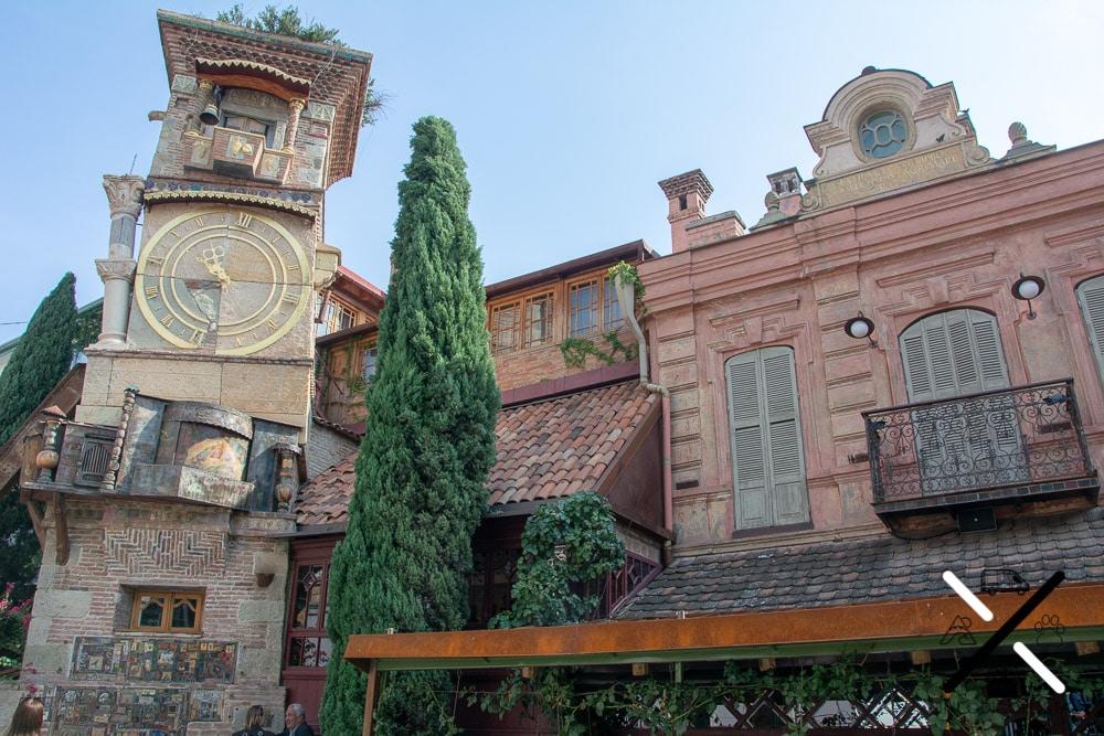 La Torre del Reloj de Tblisi