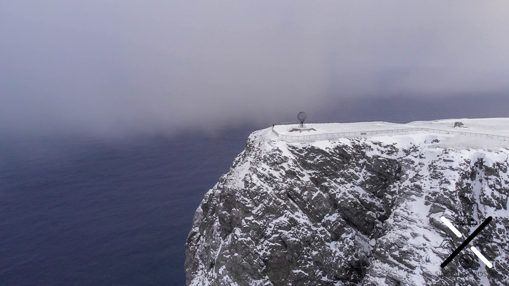 La meseta de Cabo Norte o Nord Kapp