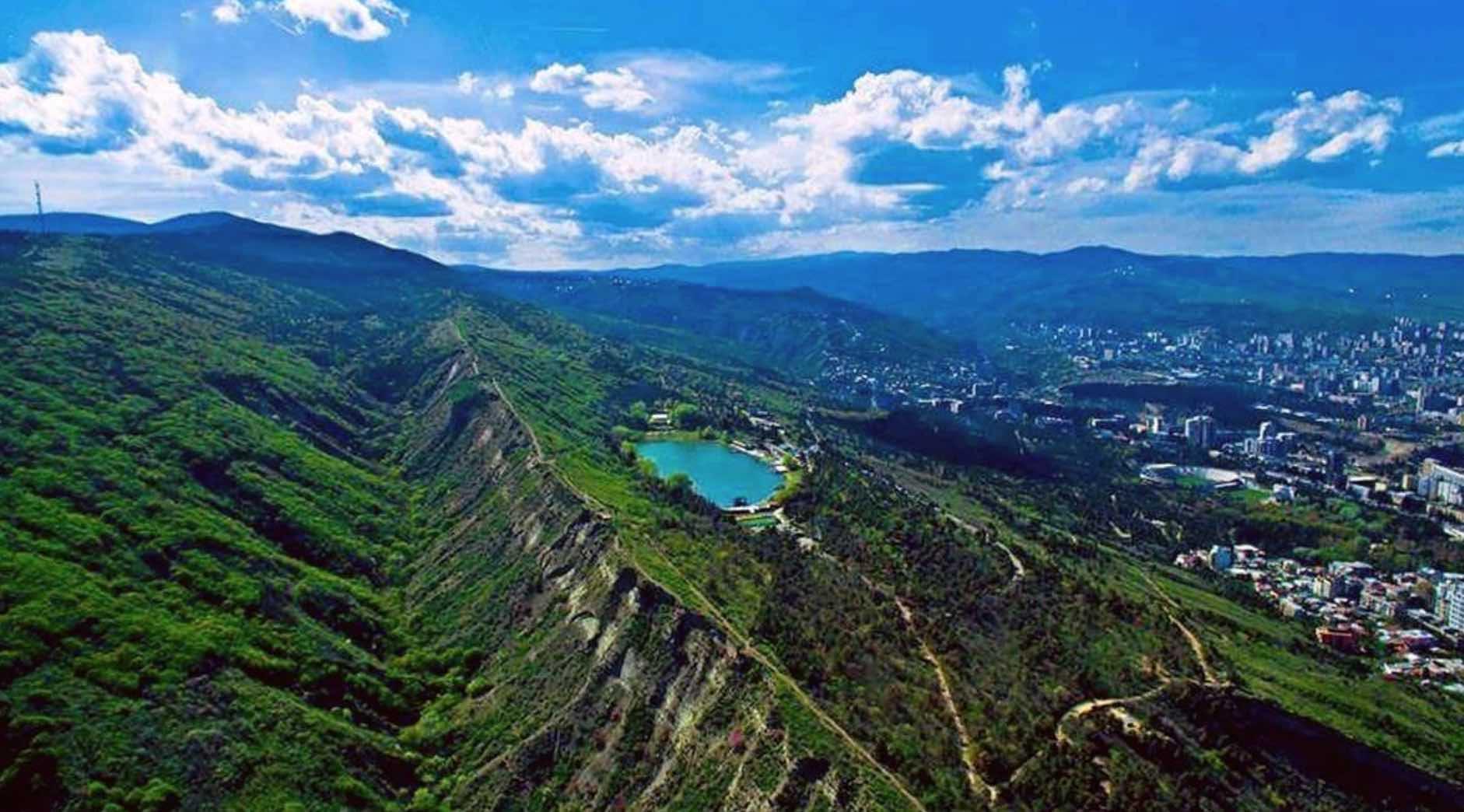 Lago Tortuga en Tbilisi