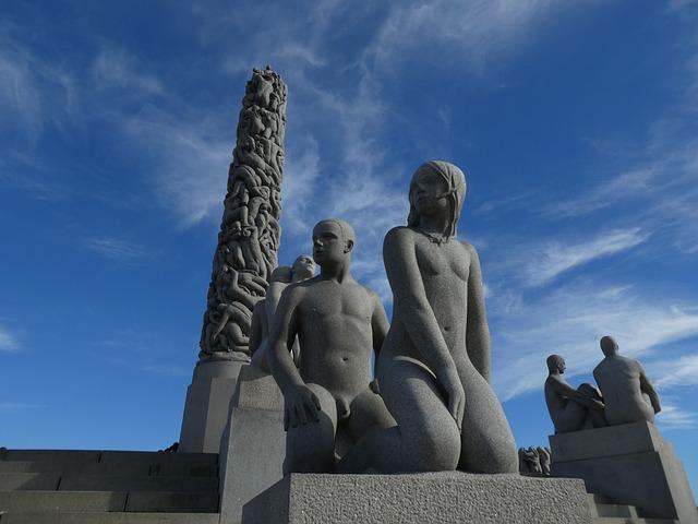 Monolito del Parque de Vigeland de Oslo