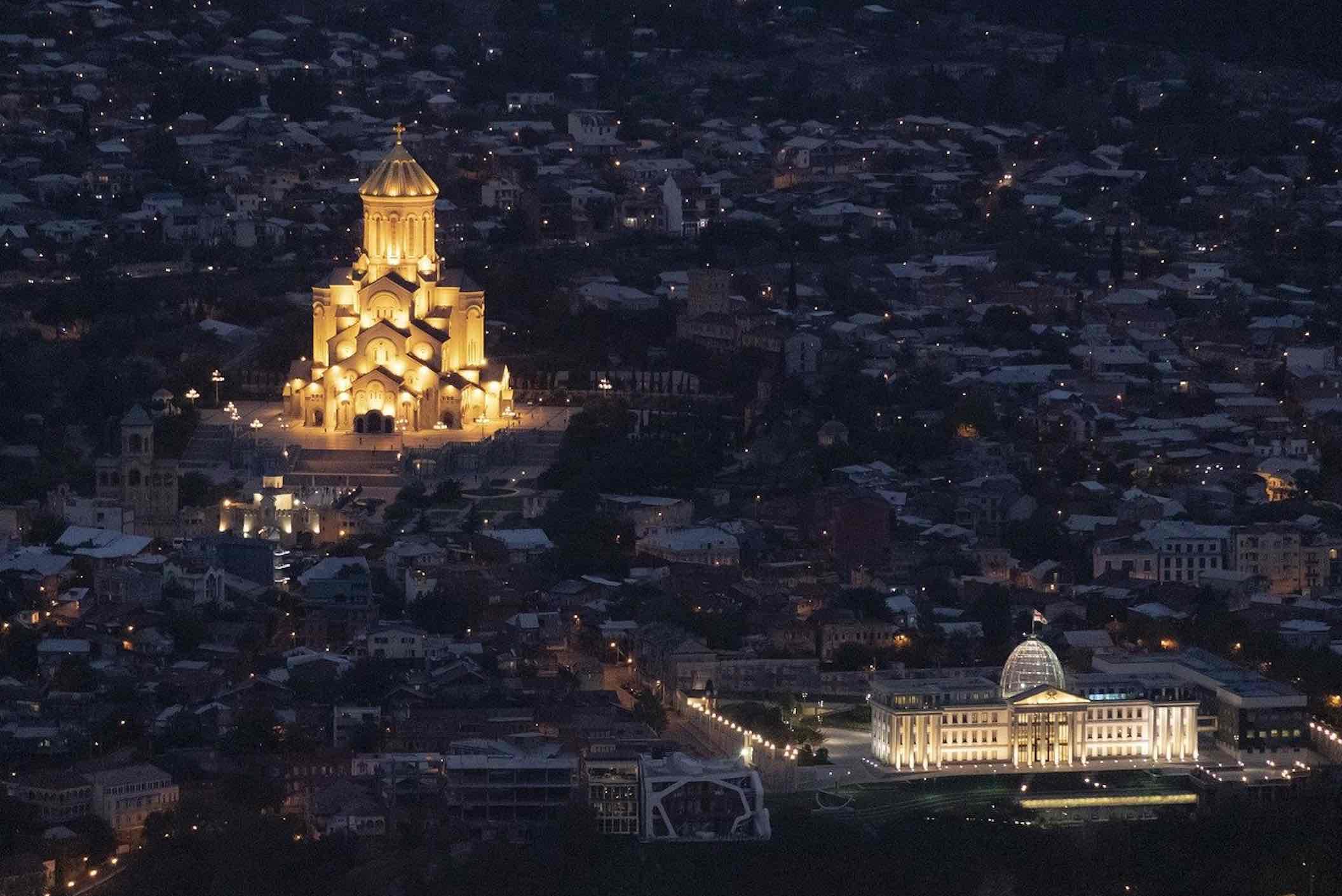 Palacio presidencial de Tbilisi