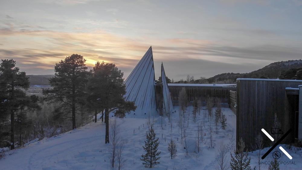 Parlamento de los Samis desde el aire