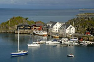 Pequeño puerto Hamn