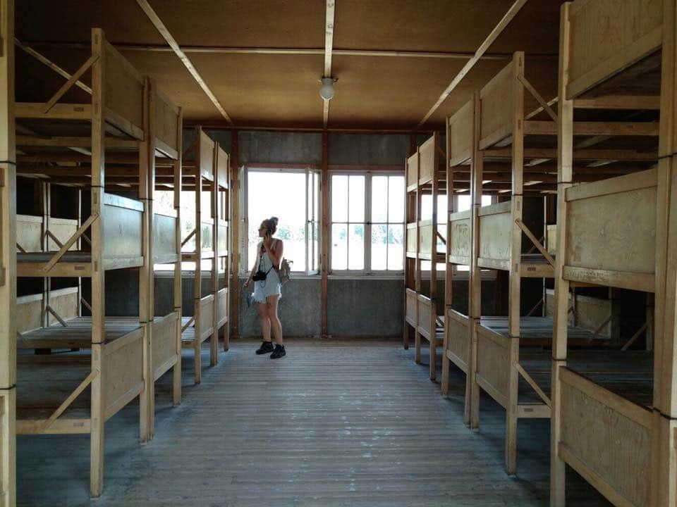 En un campo de concentración de las afueras de Munich