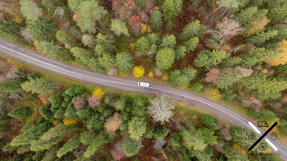 Las carreteras en Rusia eran interminables, y no siempre en el mejor de los estados posibles