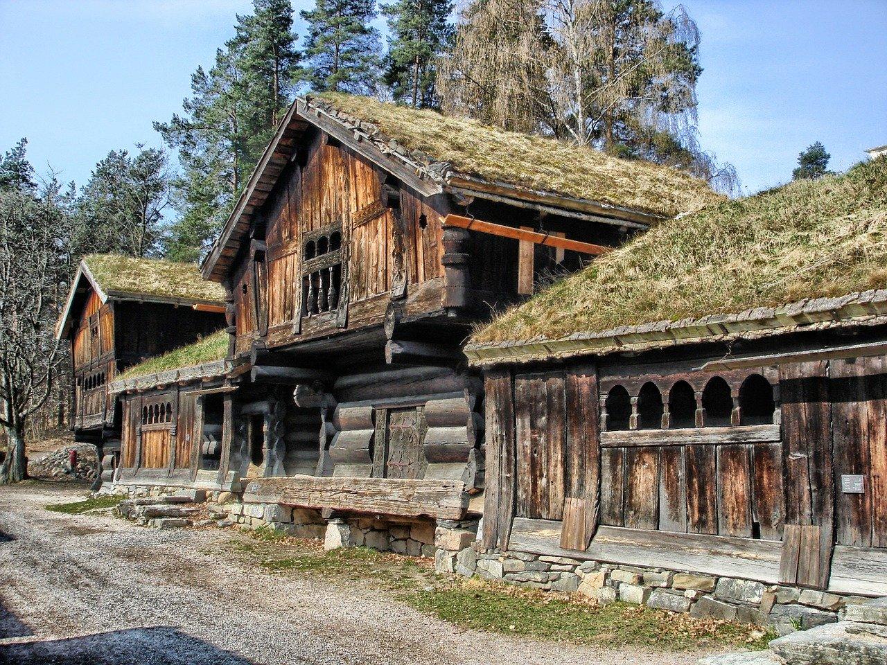 Casas tradiccionales de Oslo