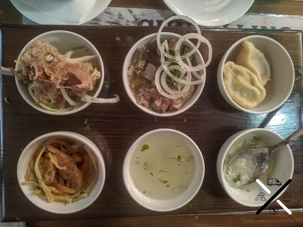 Asi como nos gustó la cultura, no tanto la gastronomía :(