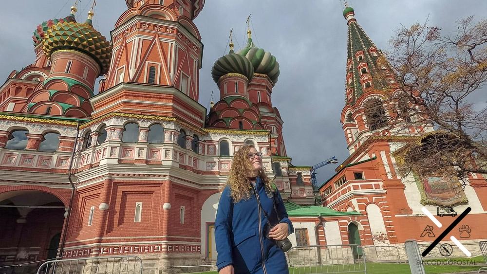 Rocío en la famosa catedral de Moscú