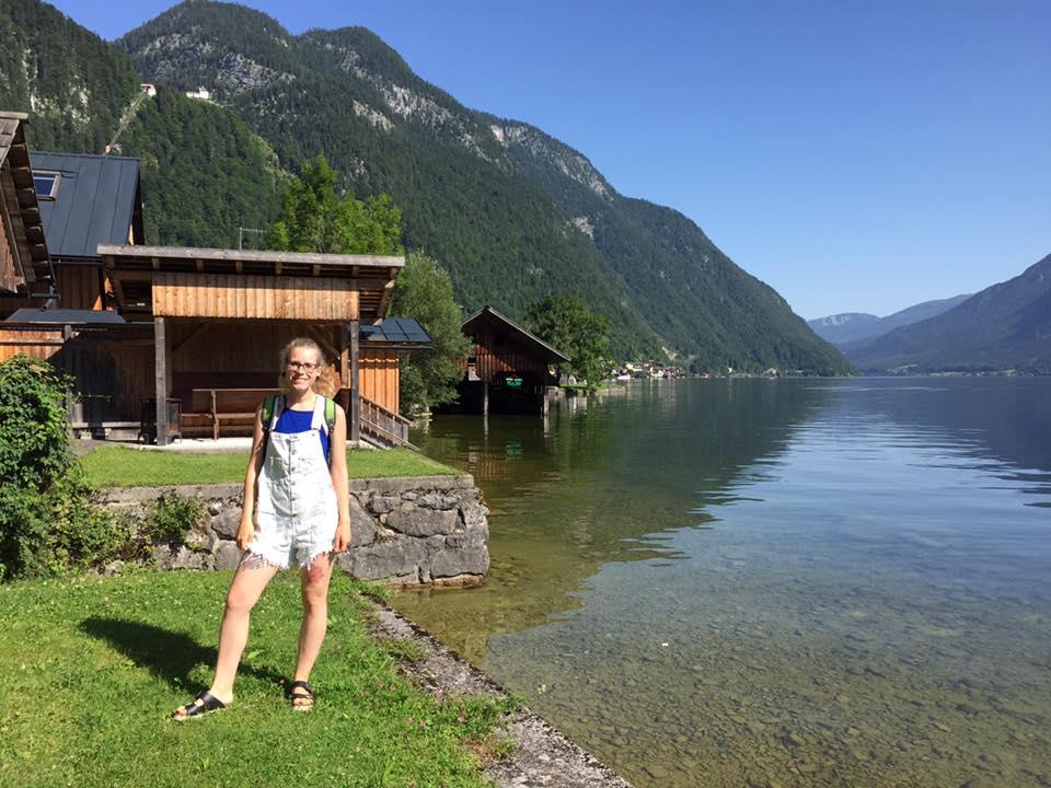 En el lago Hallstatt