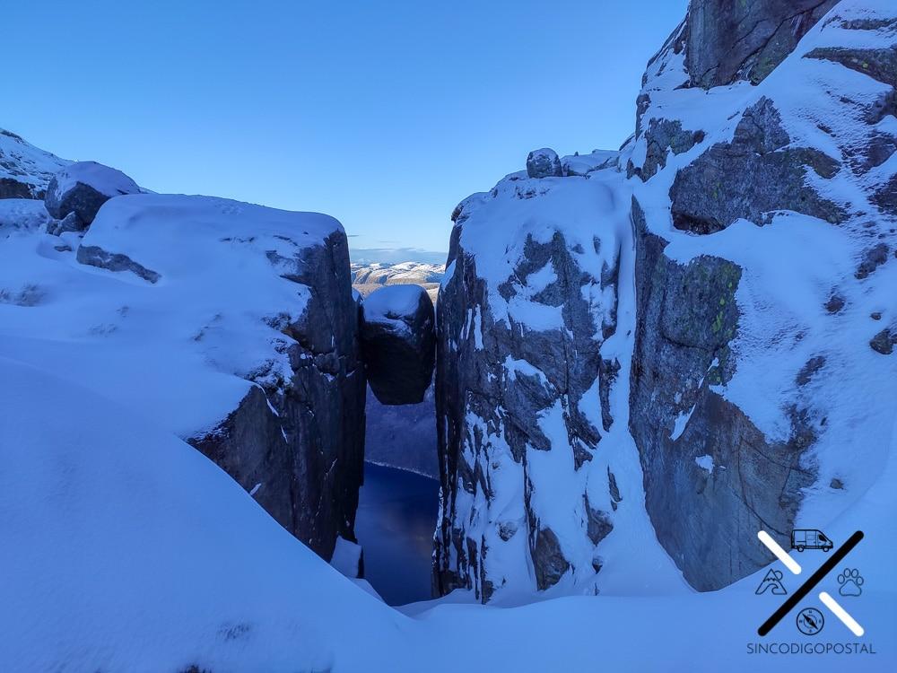 El Kjerag en invierno