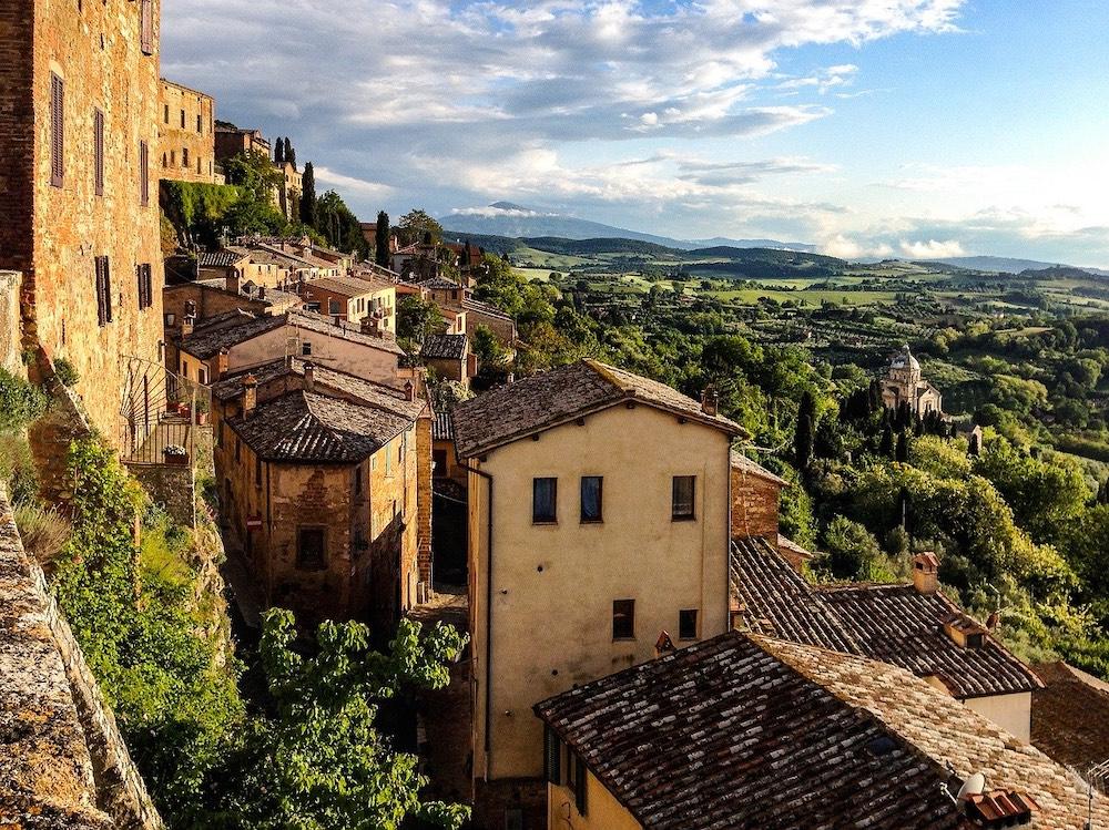 Una de las vistas de la Toscana