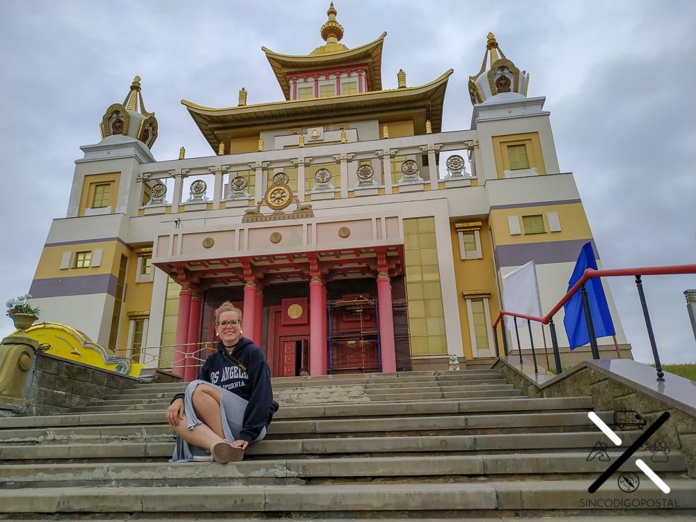 Uno de los templos budistas de Kalmukia