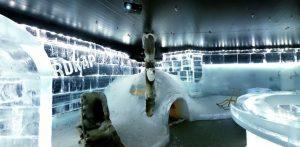 Bar de hielo en Honningsvåg
