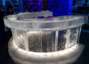 Barra de hielo del bar Artic Ice Bar en Honningsvåg