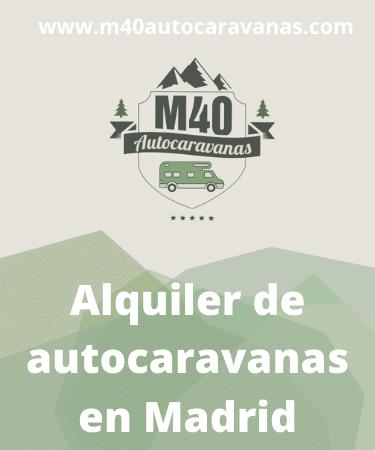 Alquiler M40 Autocaravanas
