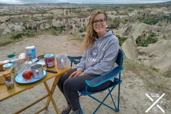 Desayunando en Capadocia (Turquía)