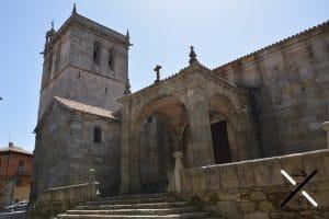 La Iglesia de Nuestra Señora de la Asunción, que da nombre a la misma plaza donde se sitúa en la Alberca