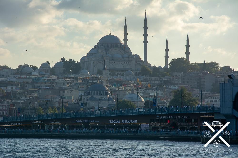 La Mezquita de Solimán fue la que más nos gusto de Estambul